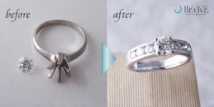 ダイヤリング 指輪 リフォーム