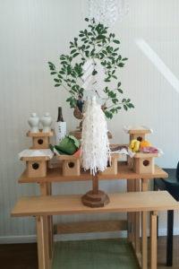 新店舗の家祓いの儀式