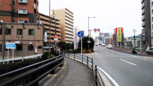福岡市 別府橋通り