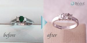 福岡市 城南区 婚約指輪 ジュエリーリフォーム
