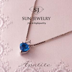 アパタイト ブルー宝石