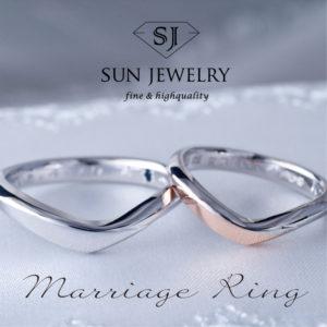 結婚指輪 マリッジリング ピンクゴールド
