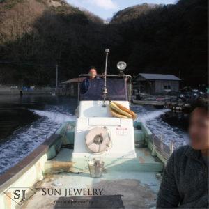 対馬 真珠 船